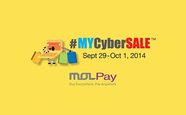 30 Million Exposure for MOLPay Merchants Participating in #MYCyberSALE