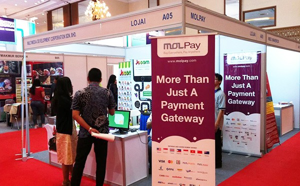 MOLPay Event - Franchise and License Expo Indonesia 2015