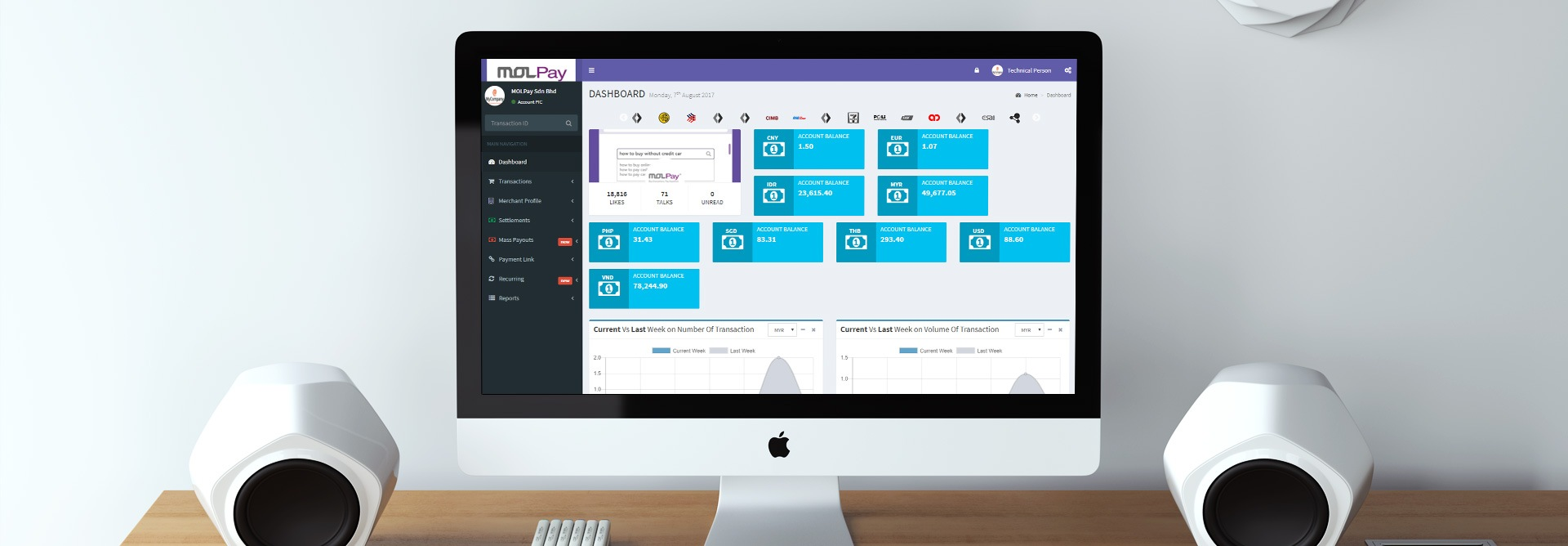 MOLPay's Merchants Can Enjoy Effortless Record Tracking with the New Portal