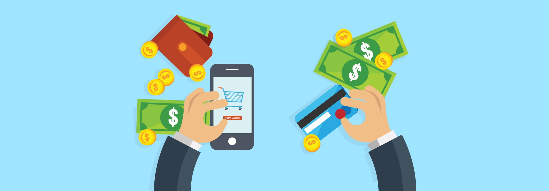 Cash Is Not The Barrier To Shop Online, It Is A Way