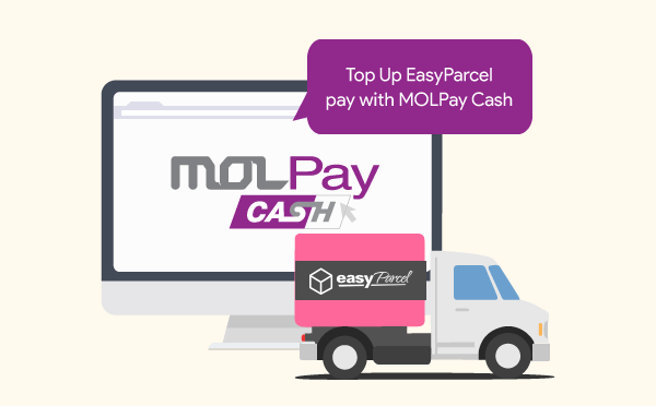 Pay for Your EasyParcel Delivery with MOLPay Cash