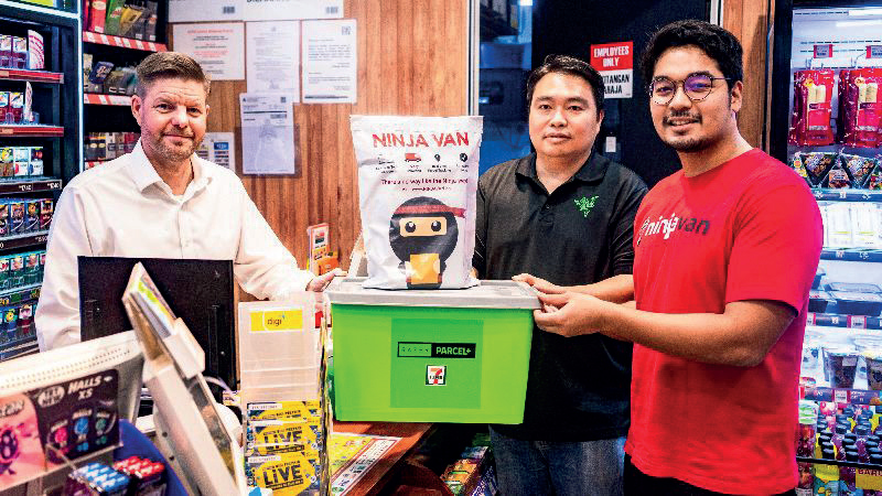 7-Eleven, Razer Merchant Services and Ninja Van bridge the gap for e-commerce entrepreneurs
