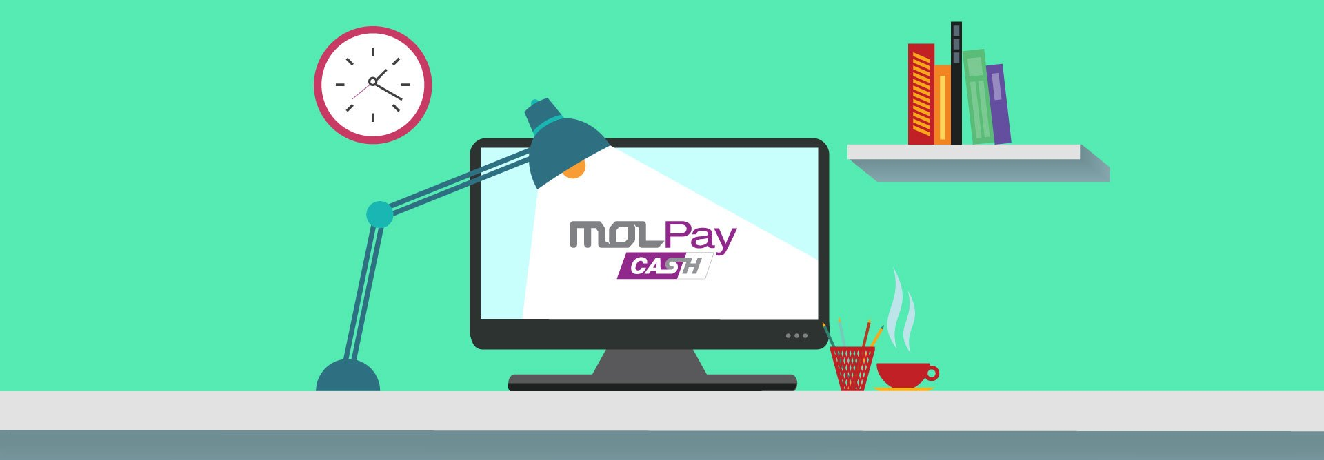 How does MOLPay CASH help during uncertain times?