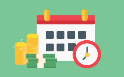 Recurring payment can let you rely less on manual payment schedule