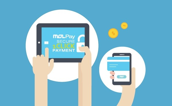 MOLPay Secure 1-Click Credit Card Payment