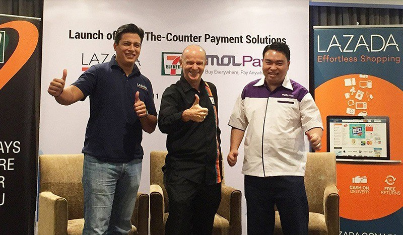 MOLPay, Lazada and 7-Eleven